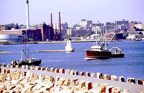 New Bedford Harbor.