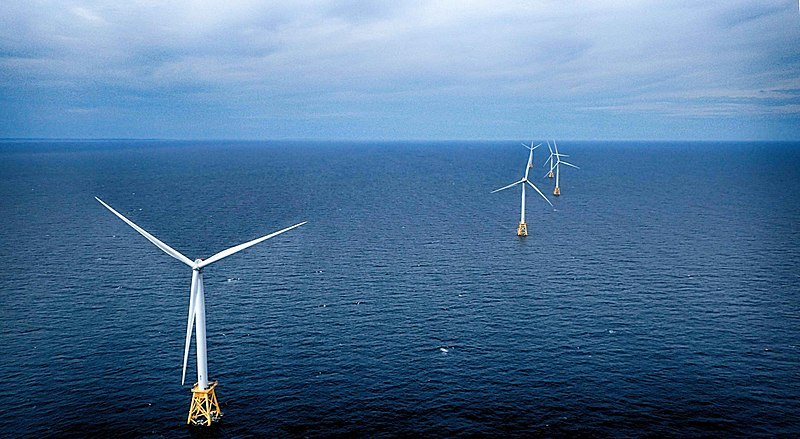 Deepwater Wind's Block Island Wind Farm.
