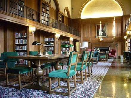 Tower Room in the Baker Memorial Library at Dartmouth College.