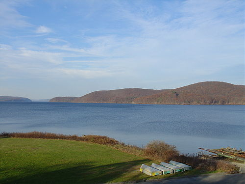 The Quabbin Reservoir, in central Massachusetts.