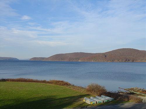 The Quabbin Reservoir, in central Massachusetts.