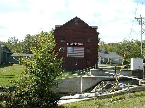 Shaker Mill, on the Williams River, in West Stockbridge.