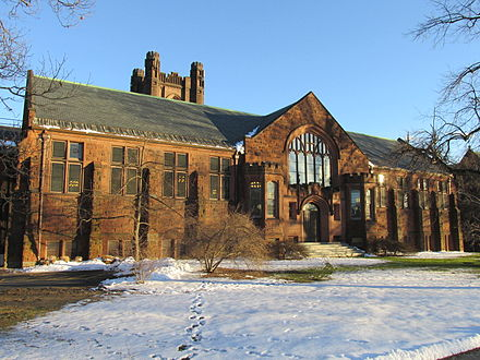 The Williston Library at Mount Holyoke College, in South Hadley, Mass.