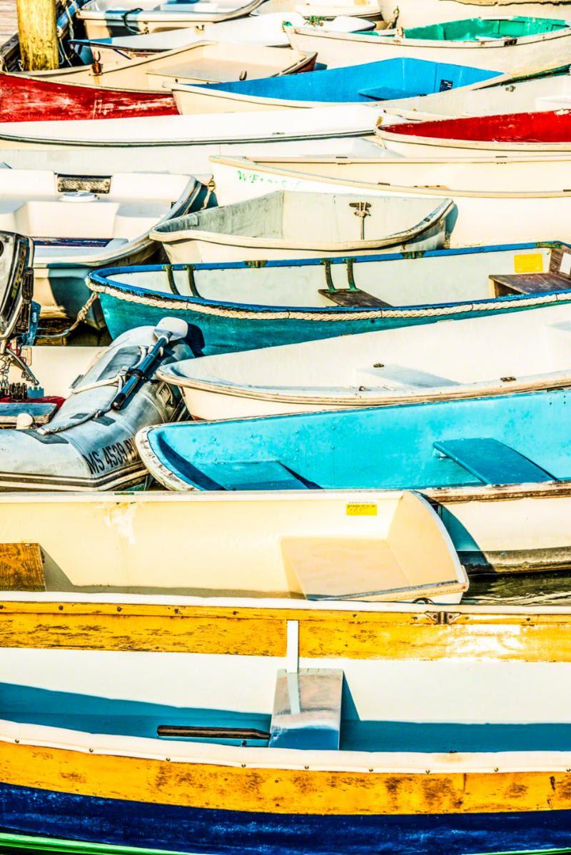 """Boats in Falmouth, Mass.,'' photo by Bobby Baker (copyright Bobby Baker Fine Art)."