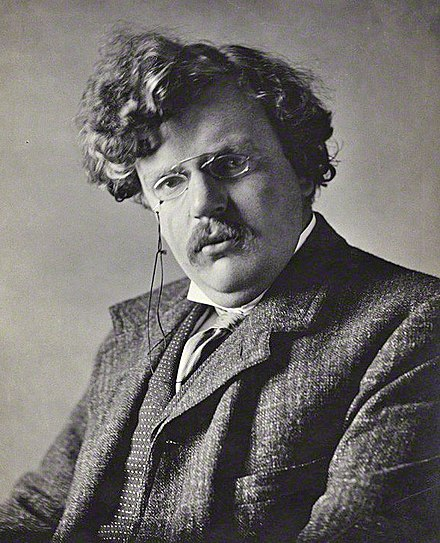 "G.K. Chesterton, in 1911. ""Men did not love Rome because she was great. She was great because they had loved her."""