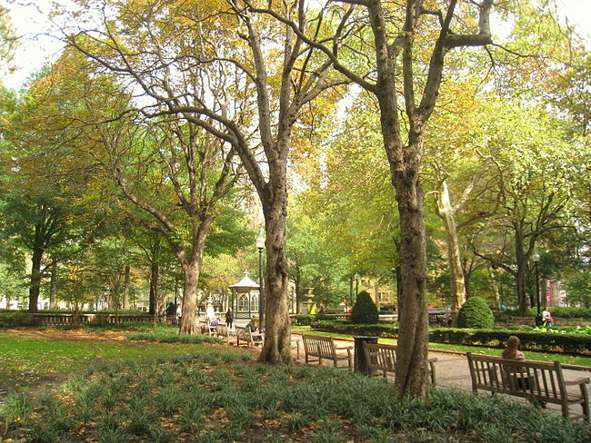 Rittenhouse Square, Philadelphia.