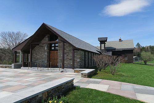 The Weston Priory's chapel.
