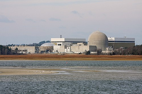 The Seabrook Nuclear Power Plant, in southeastern New Hampshire.