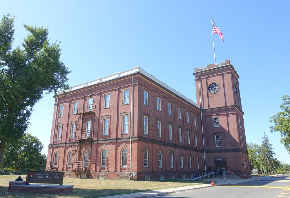Springfield Armory Museum, in the former Main Arsenal of the Springfield Armory.