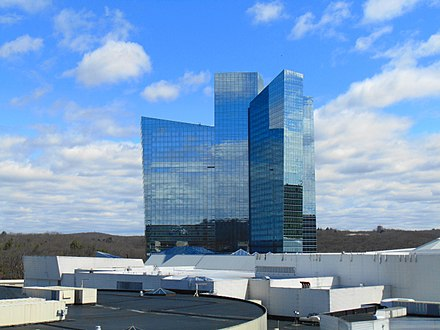 The Mohegan Sun casino, in Uncasville, Conn.
