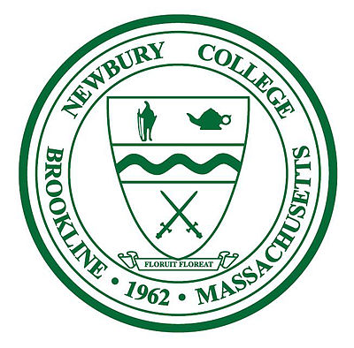 "Newbury College's motto, translated from Latin, is, ironically, ""Let It Flourish''."