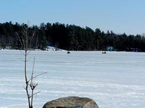 Mattanawcook Lake, in Lincoln, Maine.