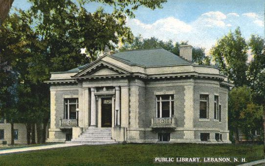 This library, like many across America, was partly funded by money from steel mogul Andrew Carnegie. It was built in 2008.