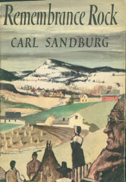 The cover of poet Sandburg's only novel , published in 1948, was by Paul Sample, a Norwich, Vt.-based painter. The scene here is based on countryside near Sample's home.