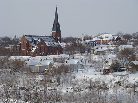 Bangor, Maine.