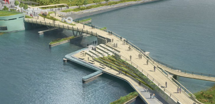 What the new bridge will look like.