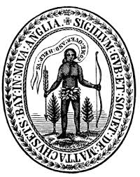 First Seal of the Massachusetts Bay Colony.