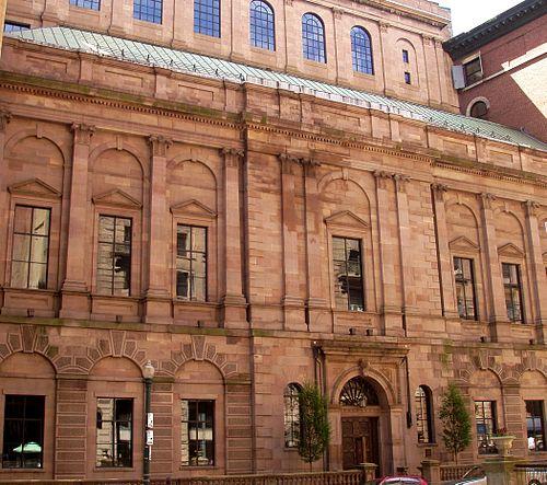 The Boston Athenaeum, built in 1847