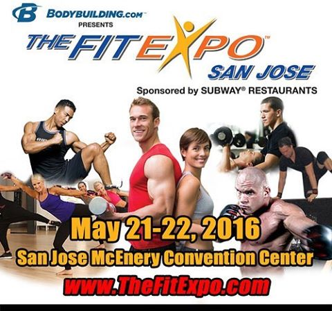 Who is coming out to the FitExpo this weekend!? Be sure to stop by booth 825!