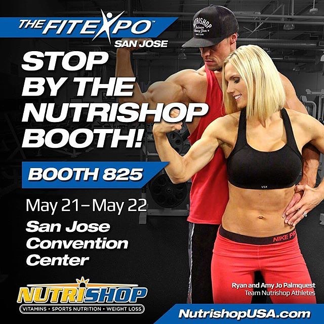 Can't wait to connect with everyone this weekend at the #SanJose #FitExpo! Visit us at booth 825!