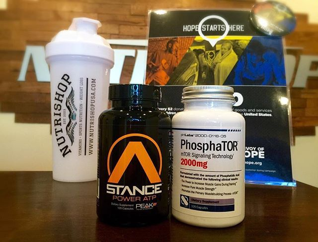 Stack 'em! • PhosphaTOR: formulated with the amount of phosphatidic acid that demonstrated clinical results to increase muscle gains during training • Power ATP: when used in combination with high intensity resistance training, it demonstrated results including an increase in lean body mass.