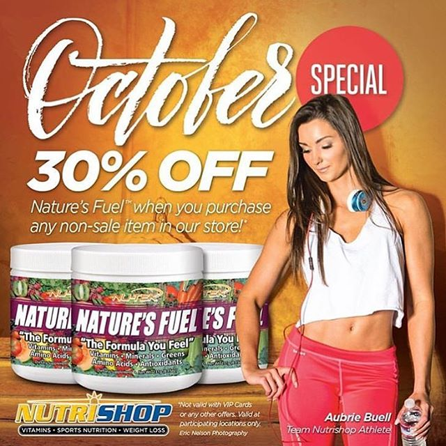Fall into savings 🍂 30% off Nature's Fuel when you purchase any non-sale item