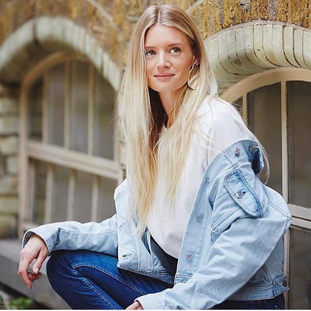 Regramming this beautiful lady @rebeccacorbinmurray wearing the Clyde Crew in today's @theststyle available @revenvert. Link in bio ☝🏻🌍