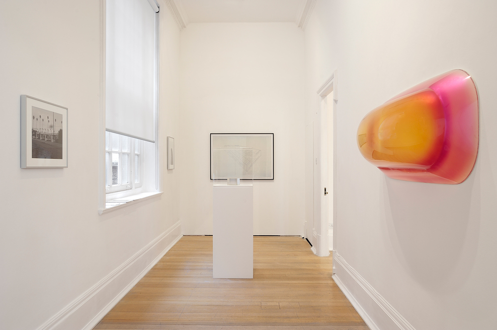 Sunless , Thomas Dane Gallery, London, United Kingdom, 2010.    James Welling, Peter Alexander,Morgan Fisher, and Craig Kauffman