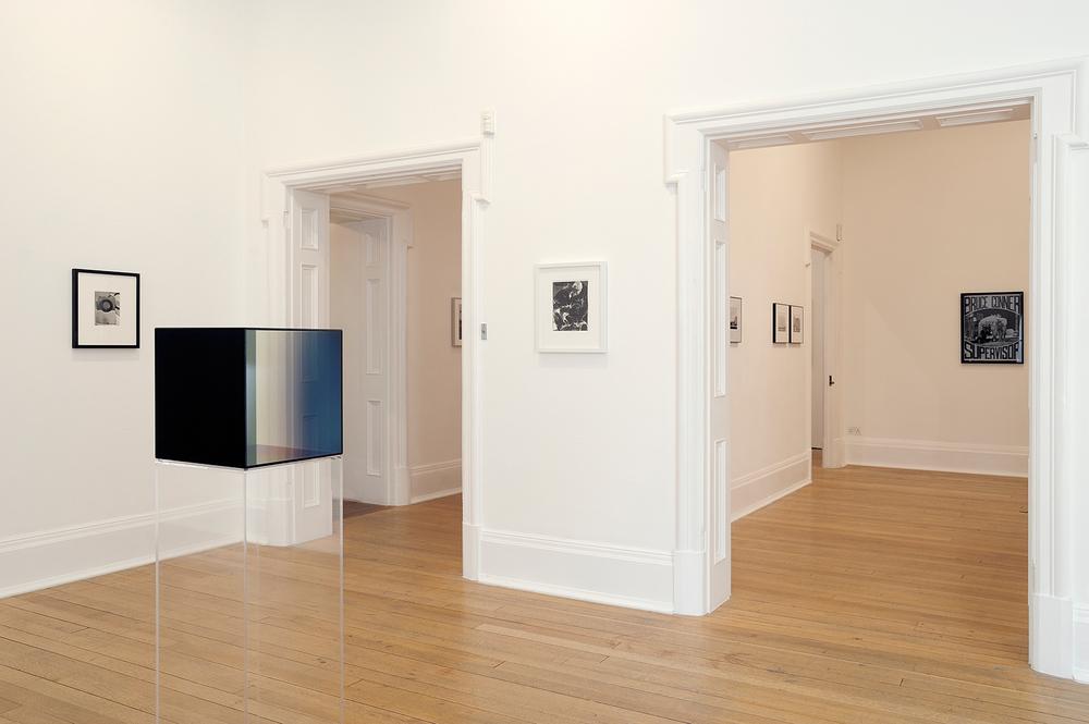 Sunless , Thomas Dane Gallery, London, United Kingdom, 2010.    Jay DeFeo,Larry Bell, and Robert Heinecken