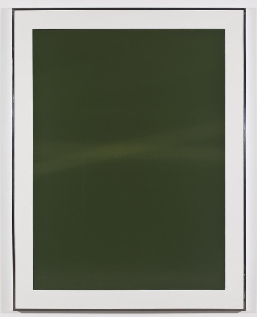 Transparency (Positive) [Fujichrome RDPIII Provia 100F Em. No. 05481: January 11–15, 2011 LAX/IAD/ZRH ZRH/IAD/LAX]   2011  Epson Ultrachrome K3 archival ink jet print on Museo Silver Rag Paper  68 x 52 1/4 inches   Transparencies, 2008–2014