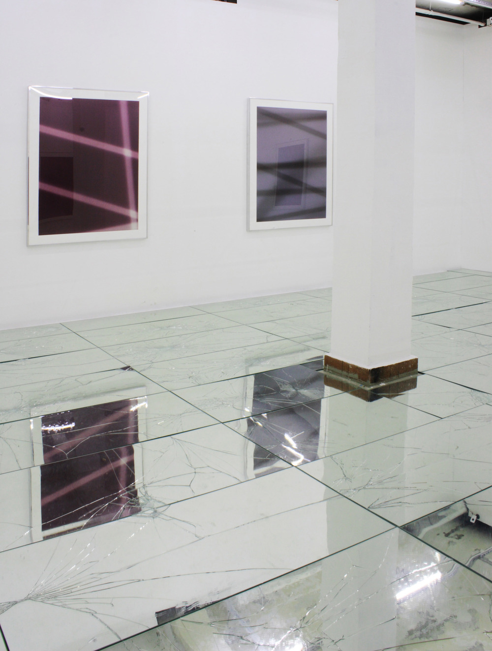 FIVE   Walead Beshty, Matthew Brannon, Wade Guyton, Sterling Ruby, and Kelley Walker  Baibakov Projects  Moscow  Russia  2009