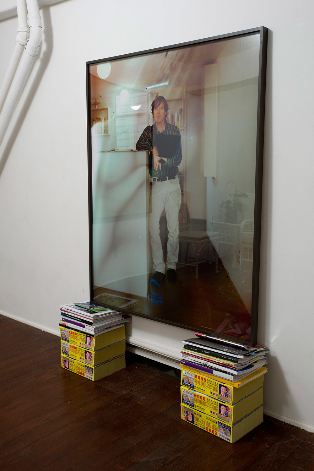 Gallerist (SH), Los Angeles, California, 2007    2008   Hand-processed color photograph  50 x 48 inches
