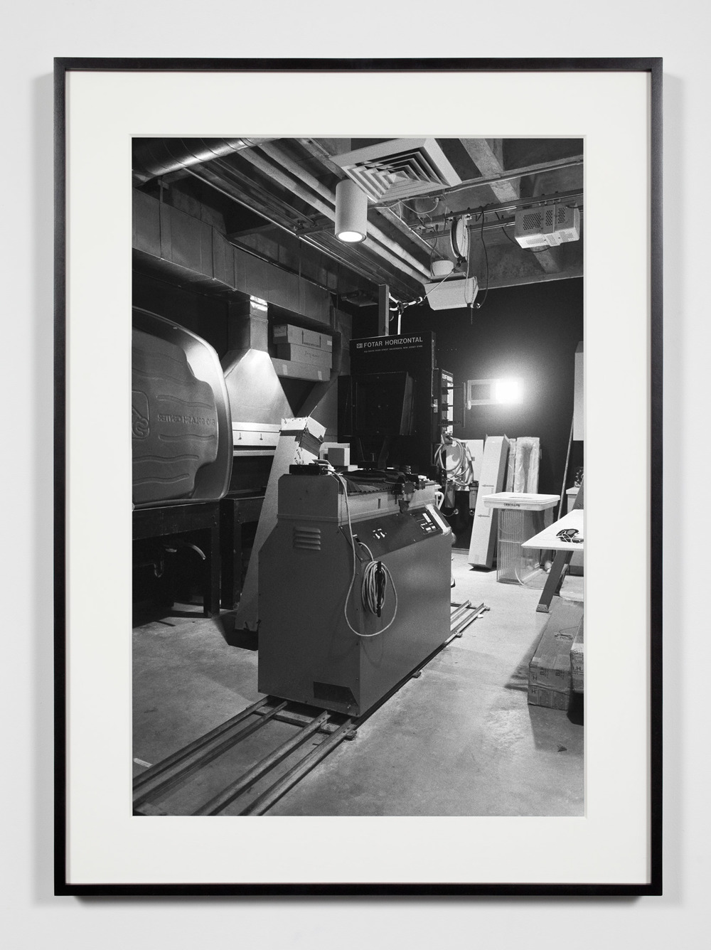 Horitonzal Enlarger (Fotar), Irvine, California, July 18, 2008    2009   Epson Ultrachrome K3 archival ink jet print on Hahnemühle Photo Rag paper  36 3/8 x 26 3/8 inches   Industrial Portraits, 2008–