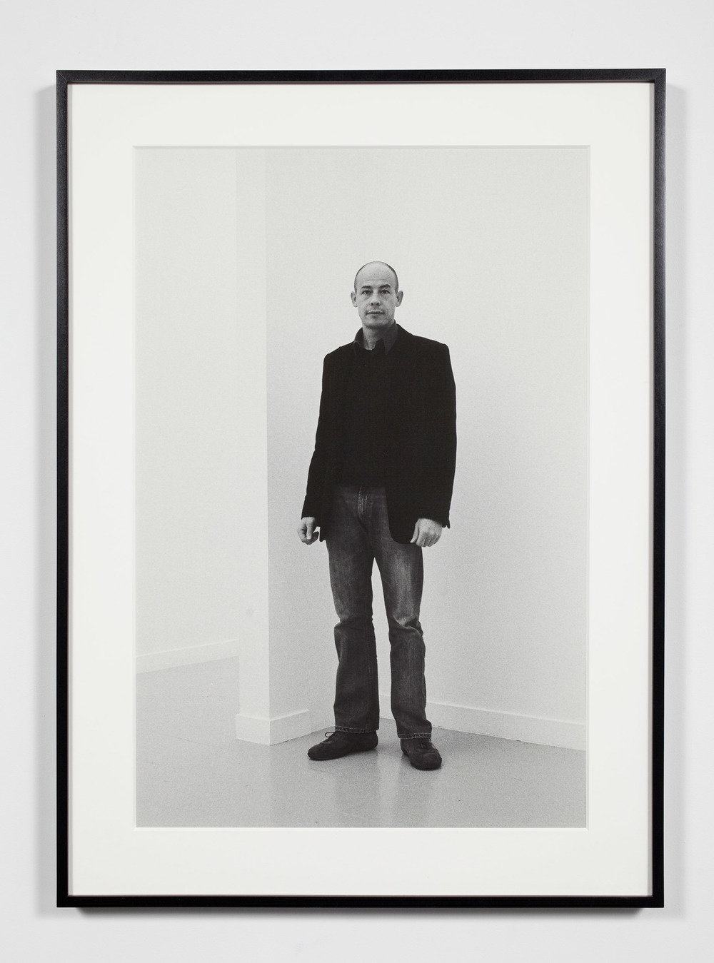 Gallery Director (FC), Brussels, Belgium, November 6, 2008    2009   Epson Ultrachrome K3 archival ink jet print on Hahnemühle Photo Rag paper  36 3/8 x 26 3/8 inches   Industrial Portraits, 2008–