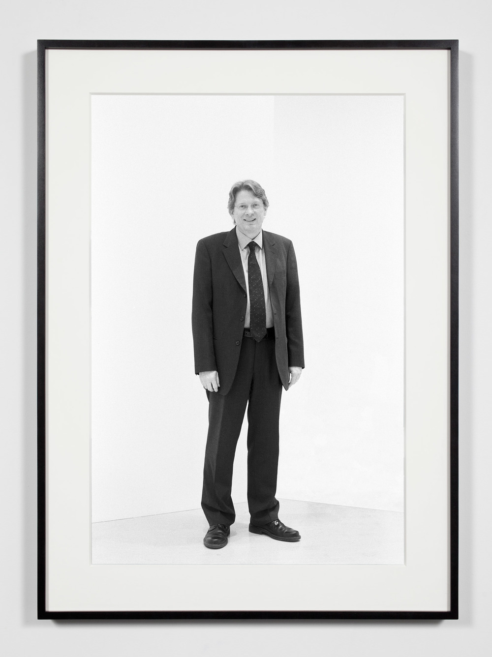 Museum Chief Curator, Washington, District of Columbia, April 29, 2009    2011   Epson Ultrachrome K3 archival ink jet print on Hahnemühle Photo Rag paper  36 3/8 x 26 3/8 inches   Industrial Portraits, 2008–