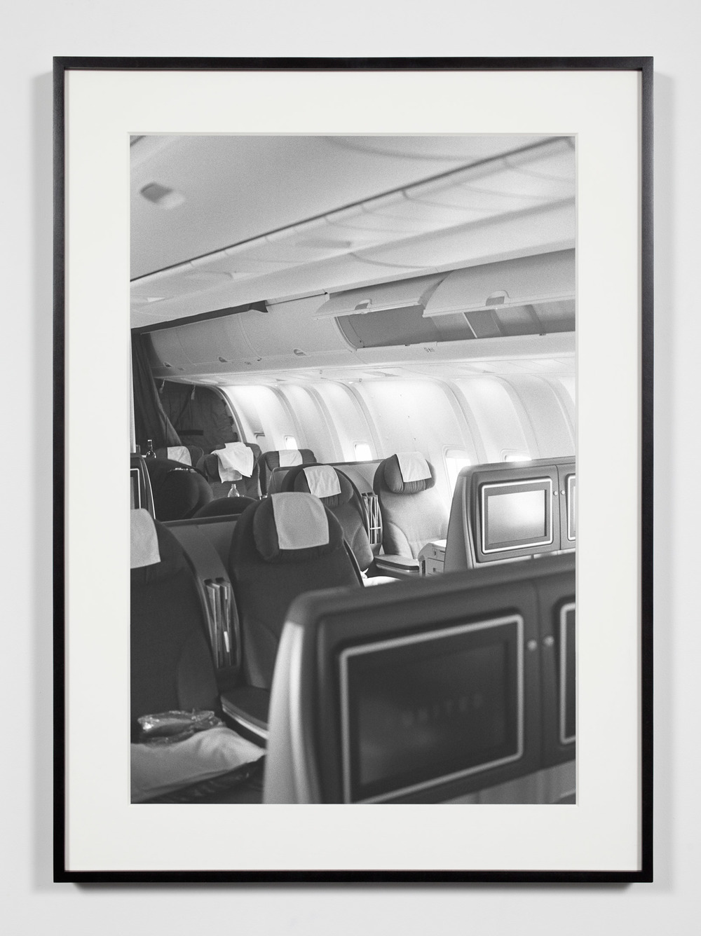 Business Class Cabin, Moscow, Russia, May 17, 2009    2011   Epson Ultrachrome K3 archival ink jet print on Hahnemühle Photo Rag paper  36 3/8 x 26 3/8 inches   Industrial Portraits, 2008–