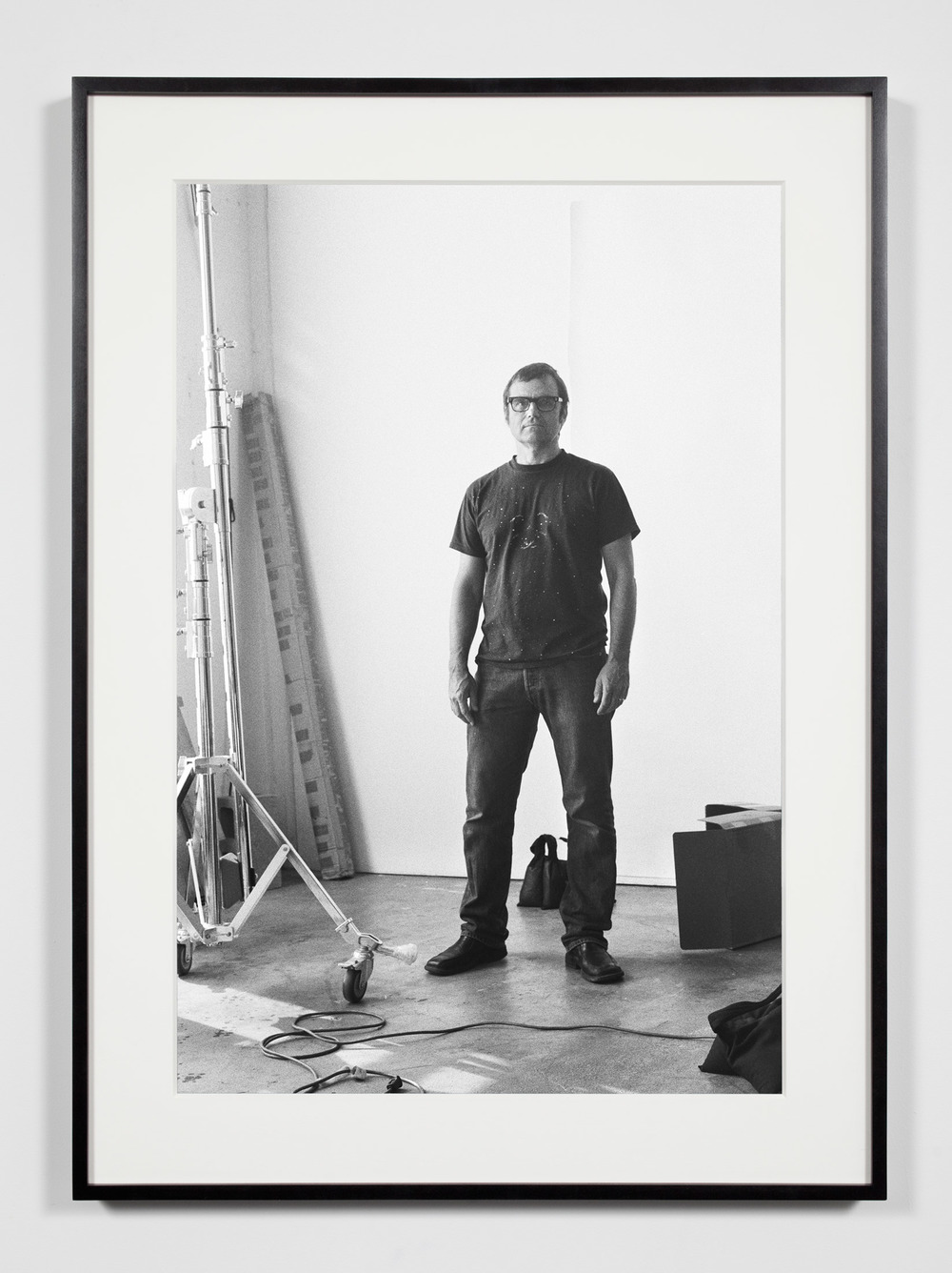 Photographer, Los Angeles, California, June 3, 2009    2011   Epson Ultrachrome K3 archival ink jet print on Hahnemühle Photo Rag paper  36 3/8 x 26 3/8 inches   Industrial Portraits, 2008–