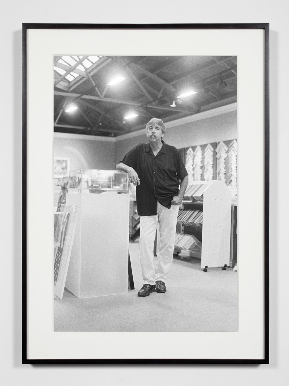 Master Framer, Los Angeles, California, June 20, 2009    2011   Epson Ultrachrome K3 archival ink jet print on Hahnemühle Photo Rag paper  36 3/8 x 26 3/8 inches   Industrial Portraits, 2008–