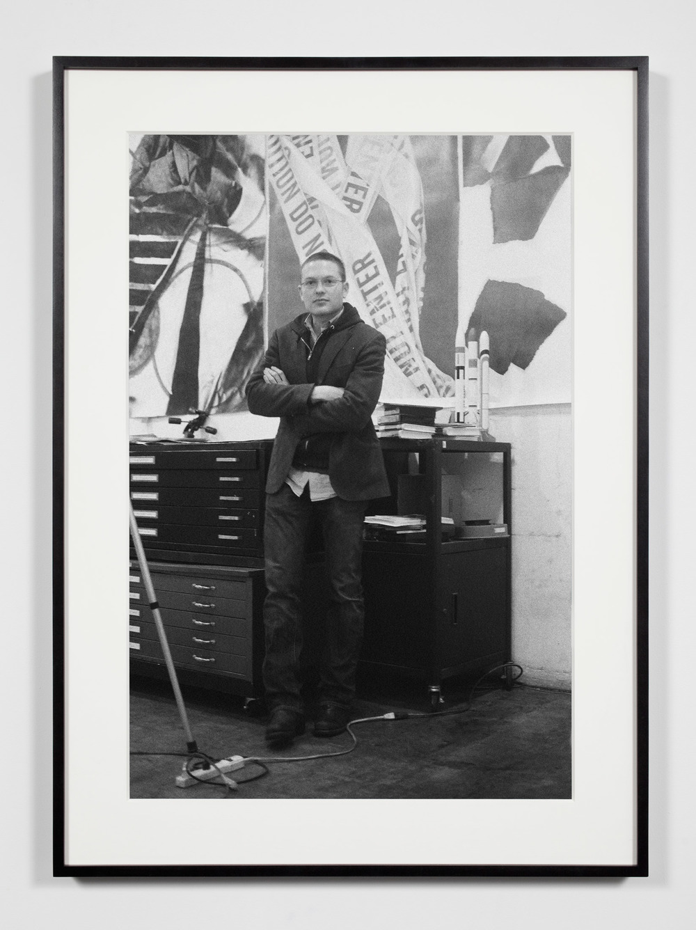 Artist, Los Angeles, California, February 8, 2009    2011   Epson Ultrachrome K3 archival ink jet print on Hahnemühle Photo Rag paper  36 3/8 x 26 3/8 inches   Industrial Portraits, 2008–