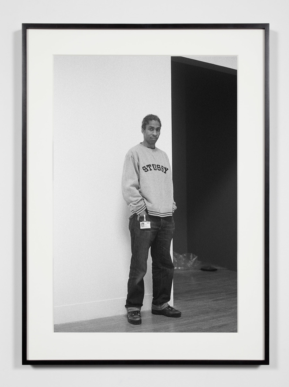 Museum Preparator, London, United Kingdom, January 30, 2009    2011   Epson Ultrachrome K3 archival ink jet print on Hahnemühle Photo Rag paper  36 3/8 x 26 3/8 inches   Industrial Portraits, 2008–