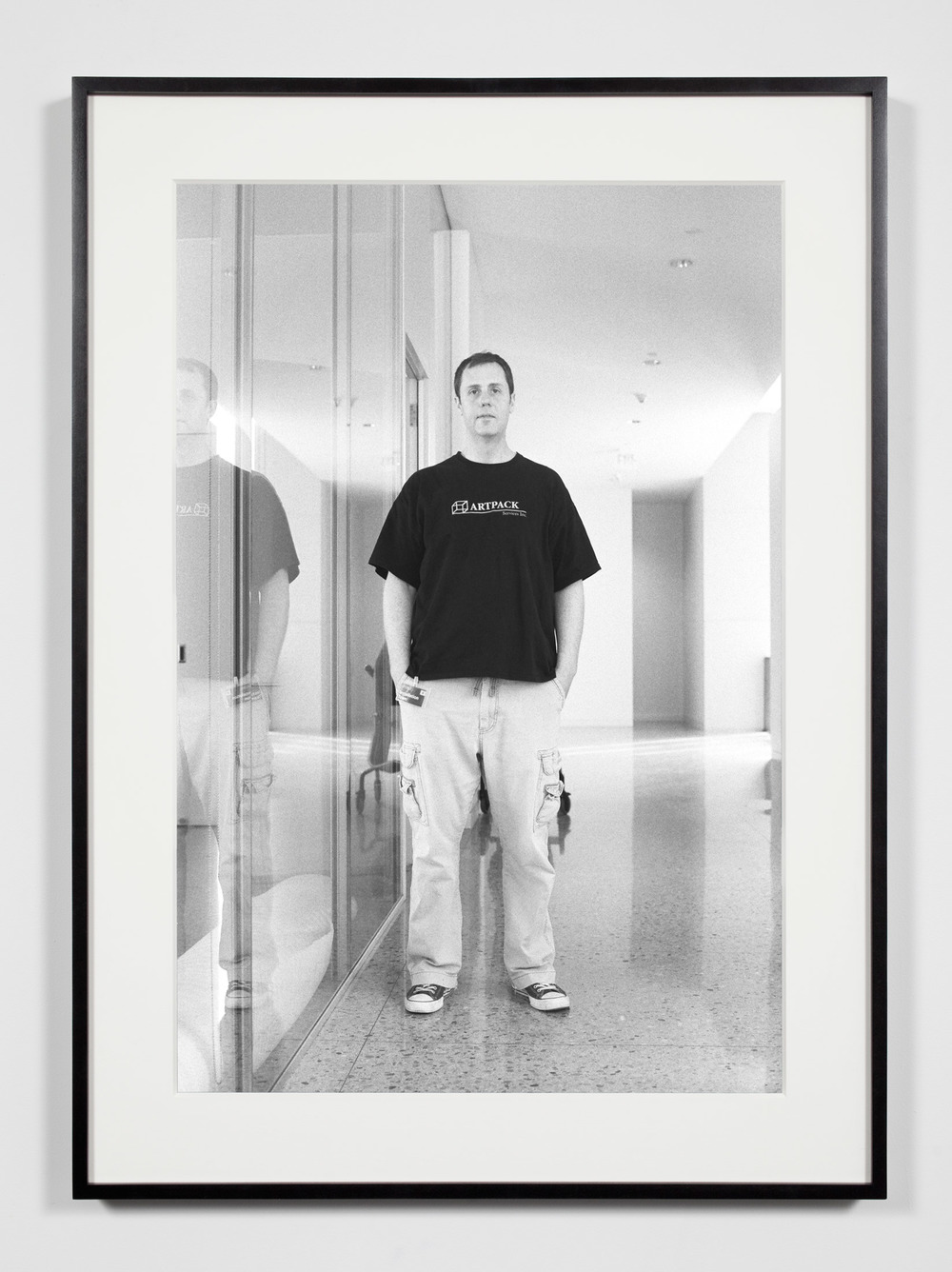 University Museum Preparator, Ann Arbor, Michigan, March 27, 2009    2011   Epson Ultrachrome K3 archival ink jet print on Hahnemühle Photo Rag paper  36 3/8 x 26 3/8 inches   Industrial Portraits, 2008–
