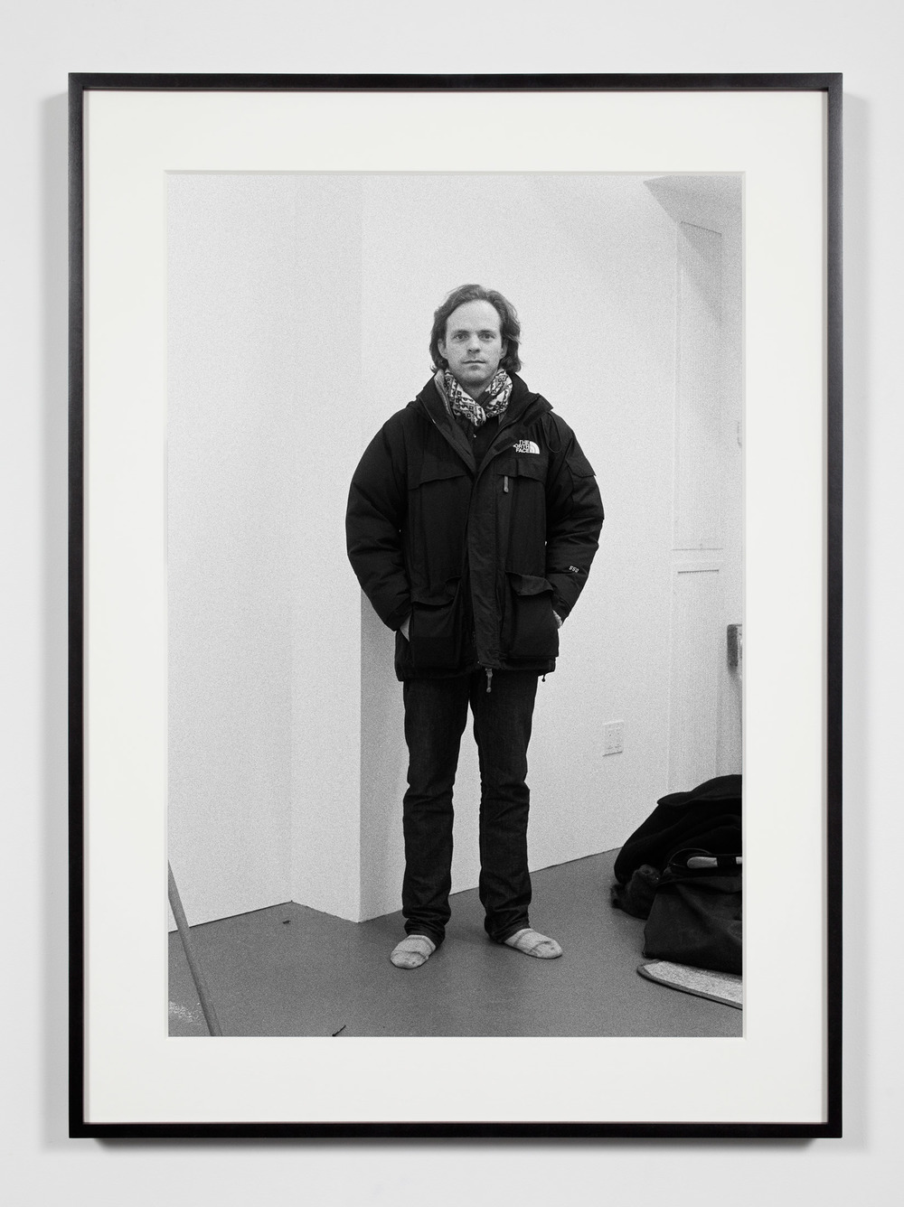 Artist, New York, New York, February 28, 2009    2011   Epson Ultrachrome K3 archival ink jet print on Hahnemühle Photo Rag paper  36 3/8 x 26 3/8 inches   Industrial Portraits, 2008–
