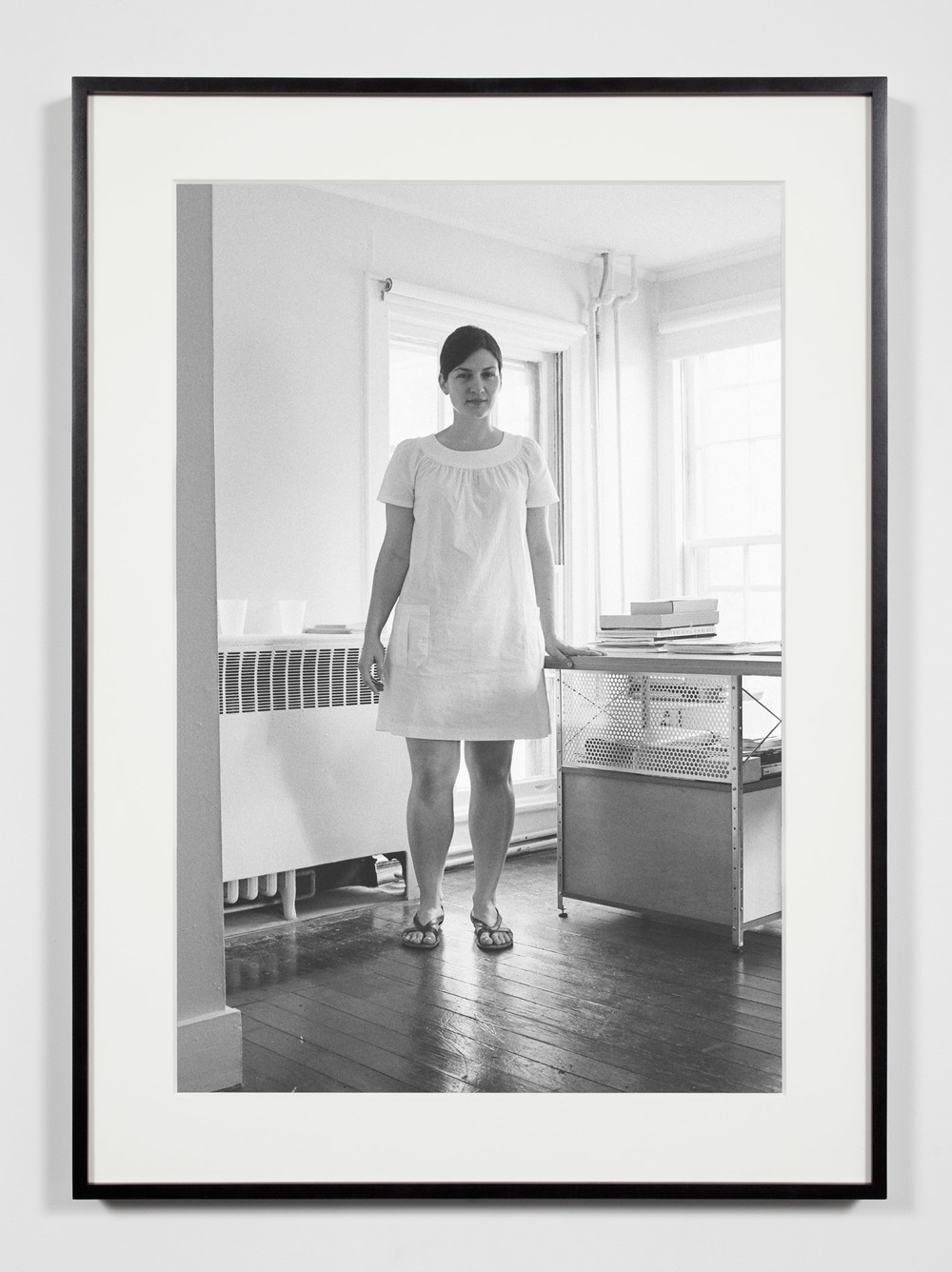 Nonprofit Executive Director/Magazine Publisher and Editor, Annandale-on-Hudson, New York, July 11, 2009    2011   Epson Ultrachrome K3 archival ink jet print on Hahnemühle Photo Rag paper  36 3/8 x 26 3/8 inches   Industrial Portraits, 2008–