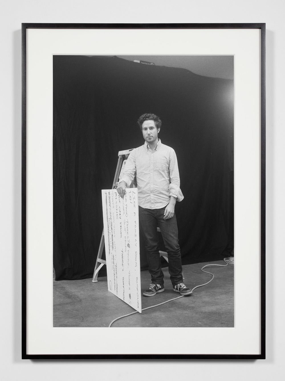 Nonprofit Associate Curator, Los Angeles, California, February 16, 2009    2011   Epson Ultrachrome K3 archival ink jet print on Hahnemühle Photo Rag paper  36 3/8 x 26 3/8 inches   Industrial Portraits, 2008–