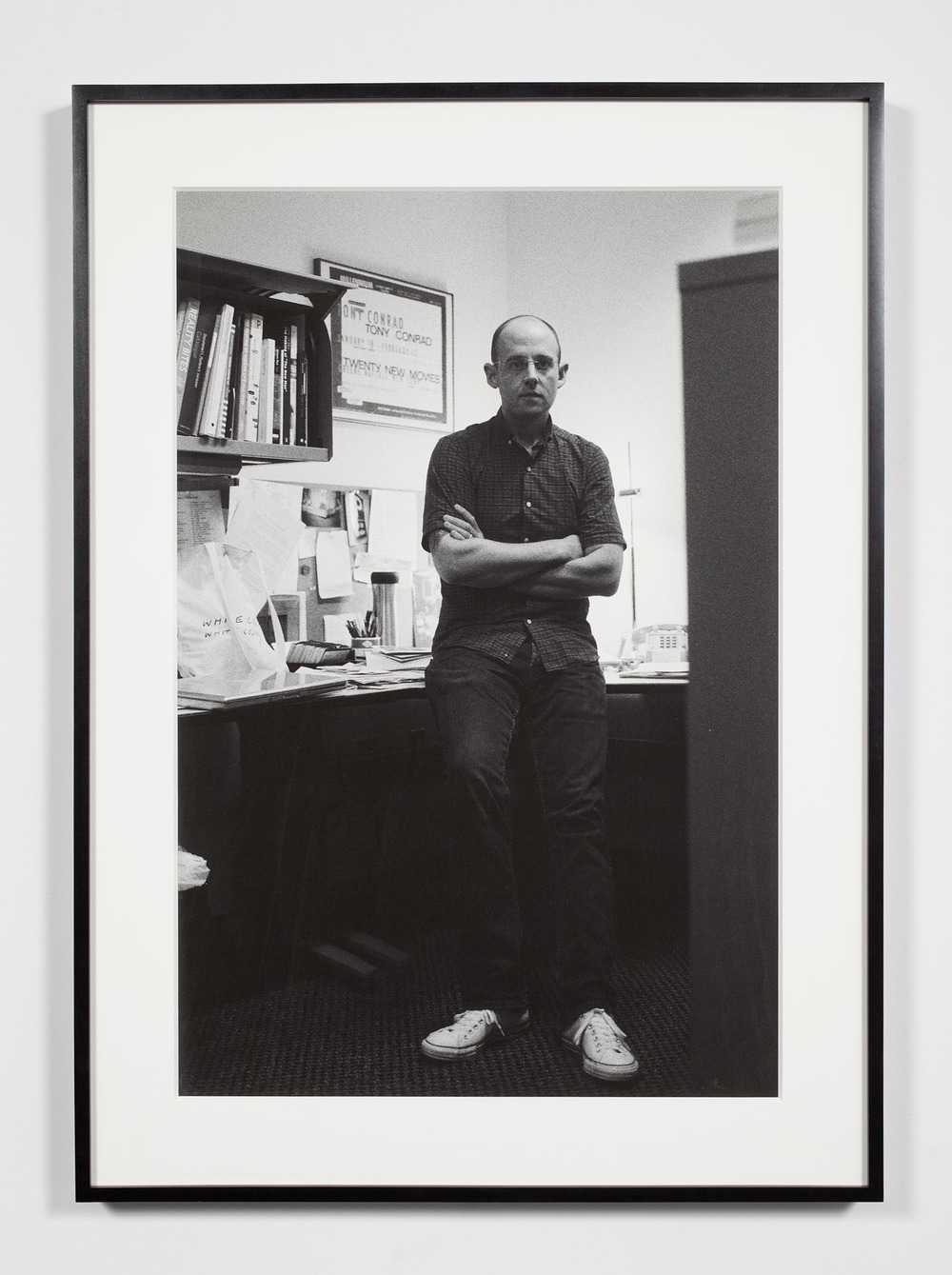 University Museum Associate Curator, Ann Arbor, Michigan, September 19, 2008    2011   Epson Ultrachrome K3 archival ink jet print on Hahnemühle Photo Rag paper  36 3/8 x 26 3/8 inches   Industrial Portraits, 2008–