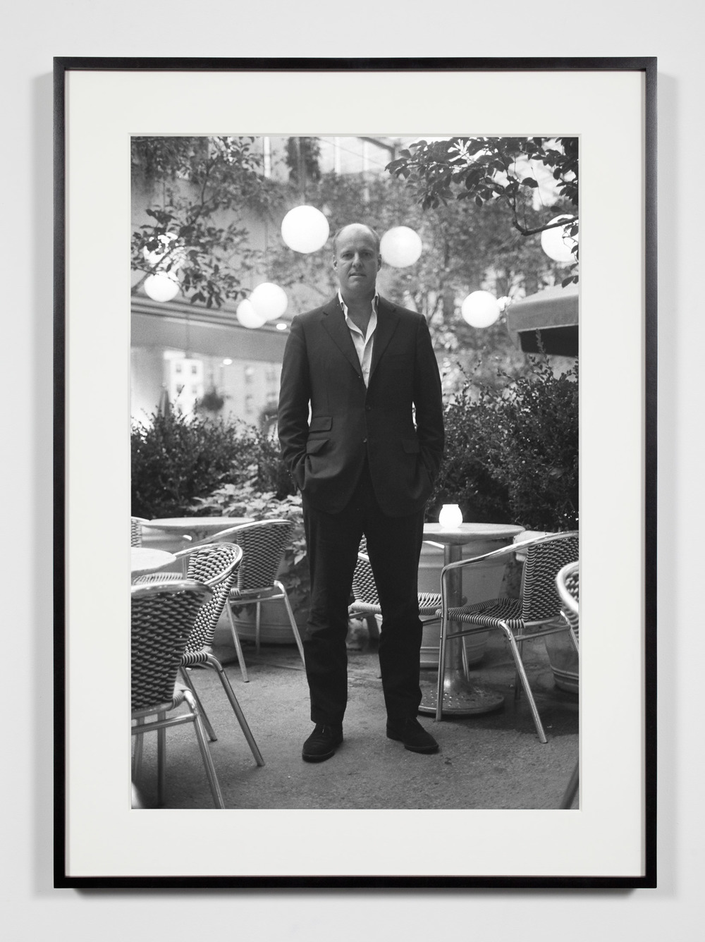 Gallery Owner, New York, New York, September 28, 2008    2011   Epson Ultrachrome K3 archival ink jet print on Hahnemühle Photo Rag paper  36 3/8 x 26 3/8 inches   Industrial Portraits, 2008–