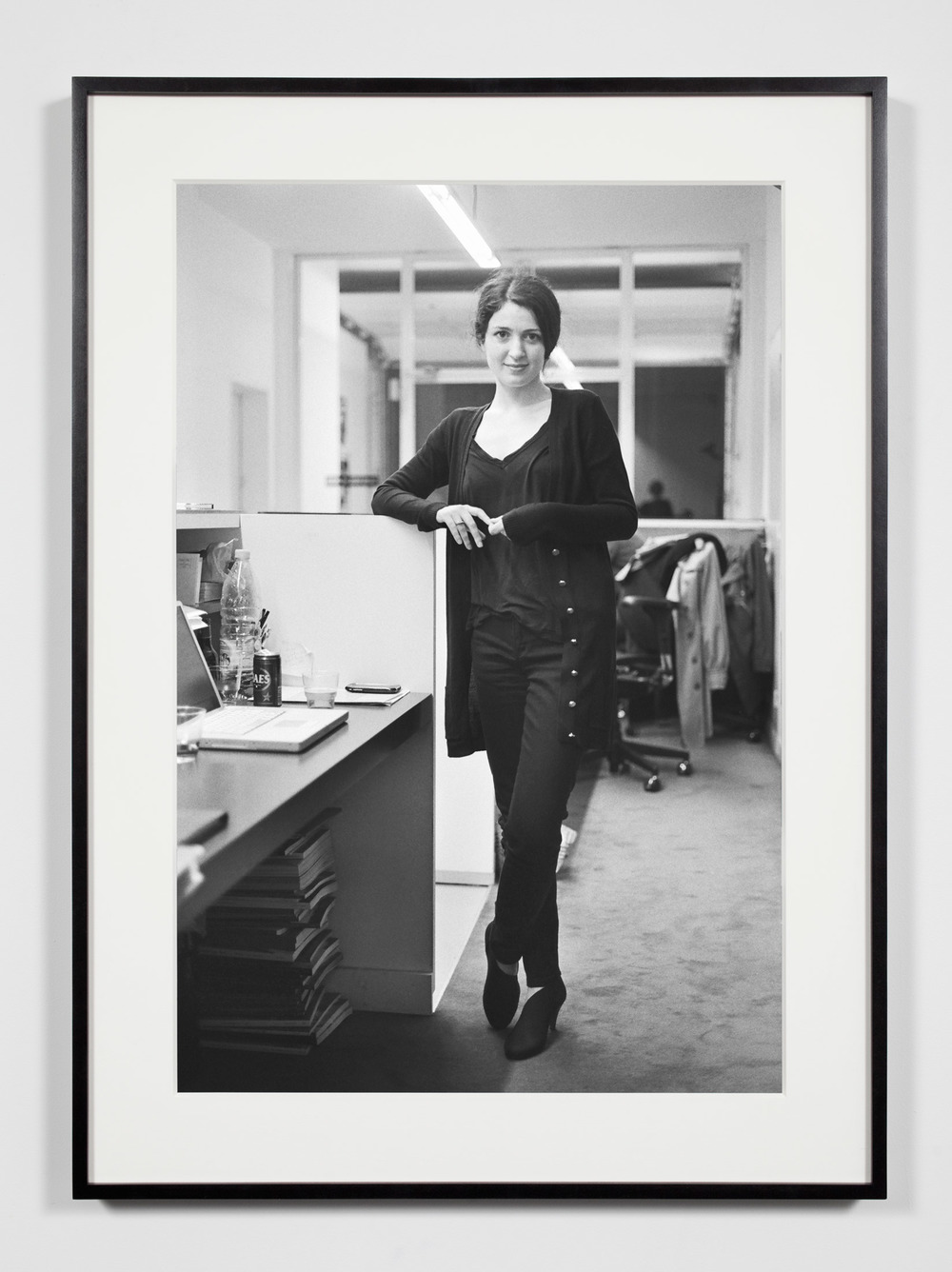 Gallery Owner/Director, Brussels, Belgium, November 8, 2008    2011   Epson Ultrachrome K3 archival ink jet print on Hahnemühle Photo Rag paper  36 3/8 x 26 3/8 inches   Industrial Portraits, 2008–