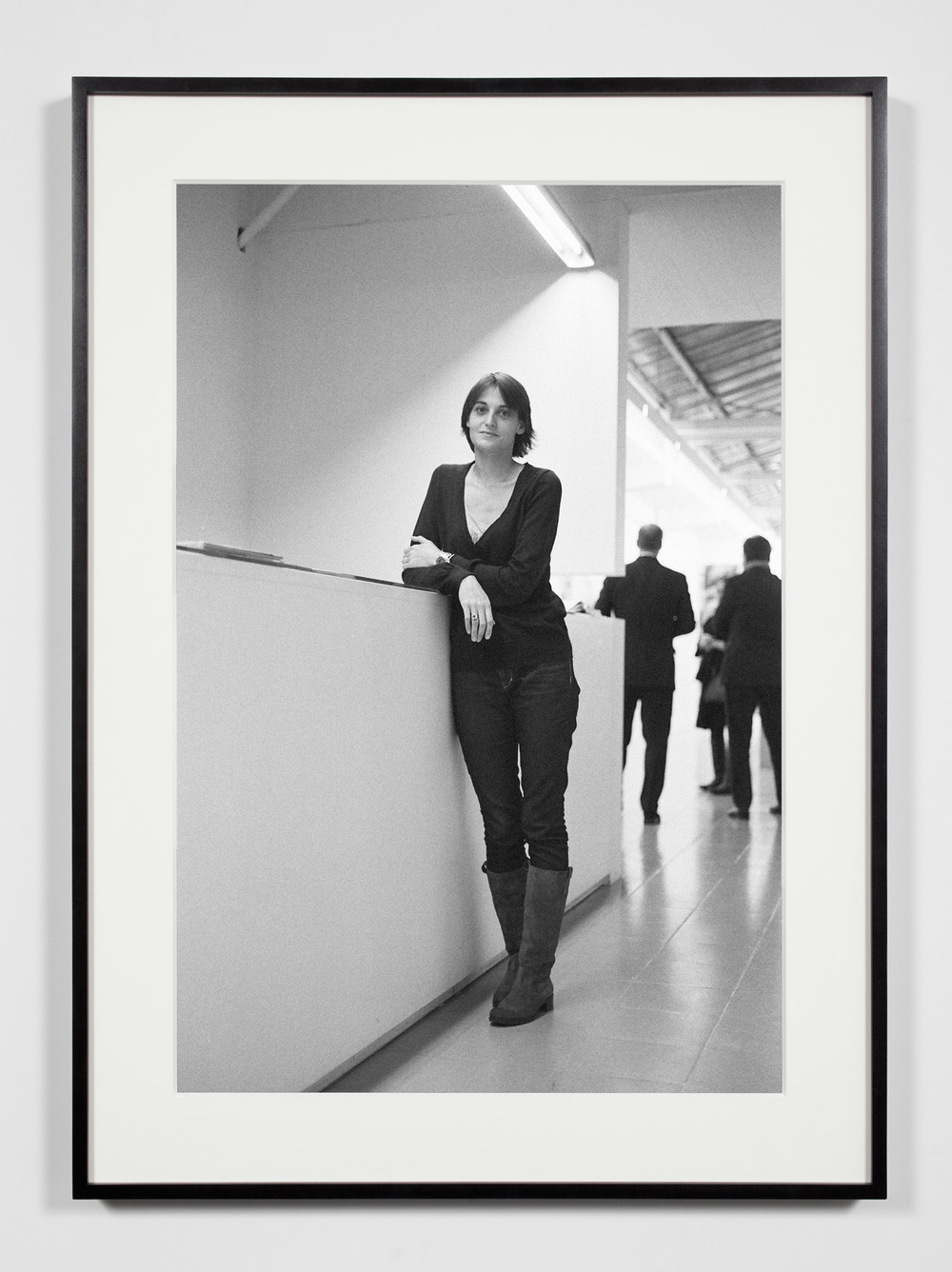 Gallery Manager, Brussels, Belgium, November 8, 2008    2011   Epson Ultrachrome K3 archival ink jet print on Hahnemühle Photo Rag paper  36 3/8 x 26 3/8 inches   Industrial Portraits, 2008–