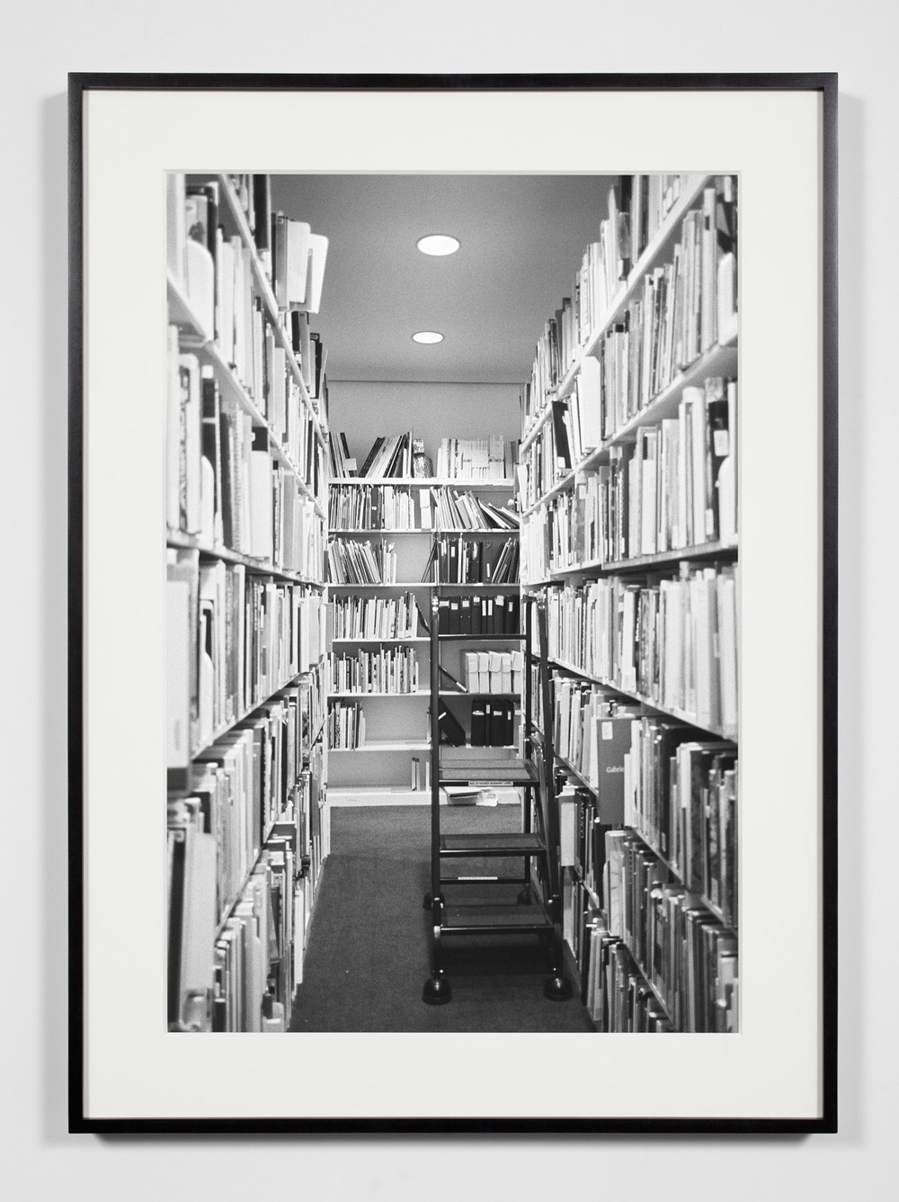 Museum Library Stacks, Washington, District of Columbia, August 18, 2008    2011   Epson Ultrachrome K3 archival ink jet print on Hahnemühle Photo Rag paper  36 3/8 x 26 3/8 inches   Industrial Portraits, 2008–