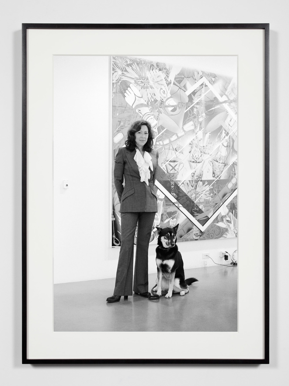 Gallery President, Los Angeles, California, December 7, 2010    2011   Epson Ultrachrome K3 archival ink jet print on Hahnemühle Photo Rag paper  36 3/8 x 26 3/8 inches   Industrial Portraits, 2008–